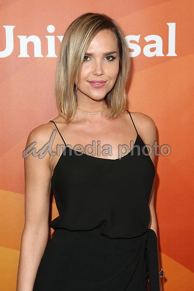 20 March 2017 - Beverly Hills California - Arielle Kebbel. 2017 NBCUniversal Summer Press Day held at The Beverly Hilton Hotel. Photo Credit: AdMedia