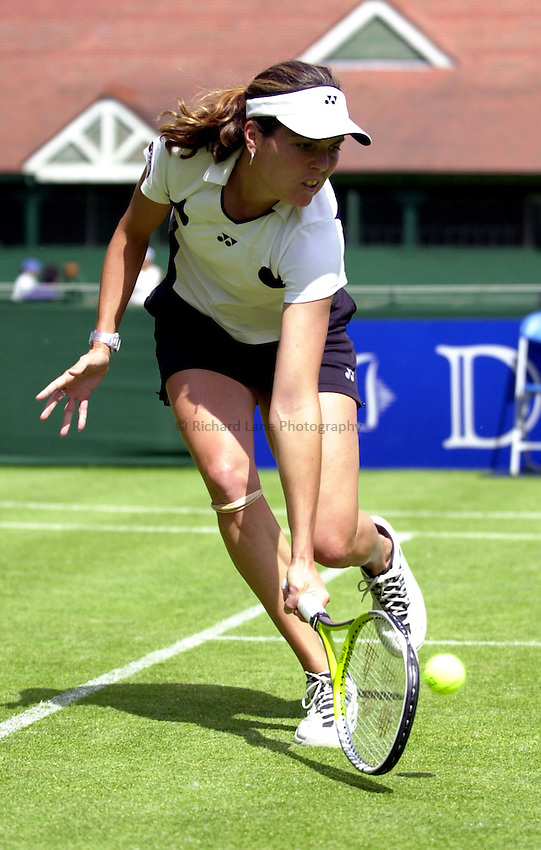 Photo: Richard Lane..DFS Classic Women's International Tennis at Edgebaston. 09/06/2003..Vanessa Webb.