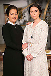 """Inma Alcantara and Giulia Charm during the presentation of the new characters for the new season of the tv series """"El Secreto de Puente Viejo""""  in Madrid, February 10, Madrid."""