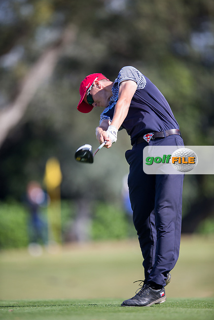 Nicolas Schellong (CZE) during the 2nd round of the European Nations Cup, Real Club de Golf Sotogrande, Paseo del Parque, 11310 Sotogrande, C&aacute;diz  30/03/2017.<br /> Picture: Golffile | Fran Caffrey<br /> <br /> <br /> All photo usage must carry mandatory copyright credit (&copy; Golffile | Fran Caffrey)