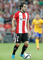 Athletic de Bilbao's Benat Etxebarria during Supercup of Spain 1st match.August 14,2015. (ALTERPHOTOS/Acero)