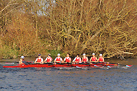 224 .WRC-Edge .W.MasB.8+ .Wallingford RC. Wallingford Head of the River. Sunday 27 November 2011. 4250 metres upstream on the Thames from Moulsford railway bridge to Oxford University's Fleming Boathouse in Wallingford. Event run by Wallingford Rowing Club.