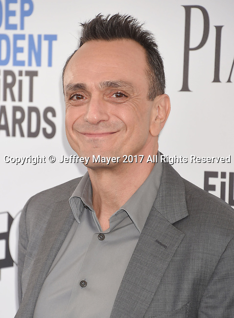 SANTA MONICA, CA - FEBRUARY 25: Actor Hank Azaria attends the 2017 Film Independent Spirit Awards at the Santa Monica Pier on February 25, 2017 in Santa Monica, California.