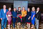 Winners of the Judges Vote Gavin Lacey and catherine Leenand presenting Gavin and Catherine their prize were the judges, l-r: Adian O'Connor and Joanne O'Connor (judges), Joe Burkett (dancing creative), Catherine leen and Gavin Lacey (winners), Bernice O'Sullivan (2016 winner), Toirésas Ferris and Danny Leane (Judges).