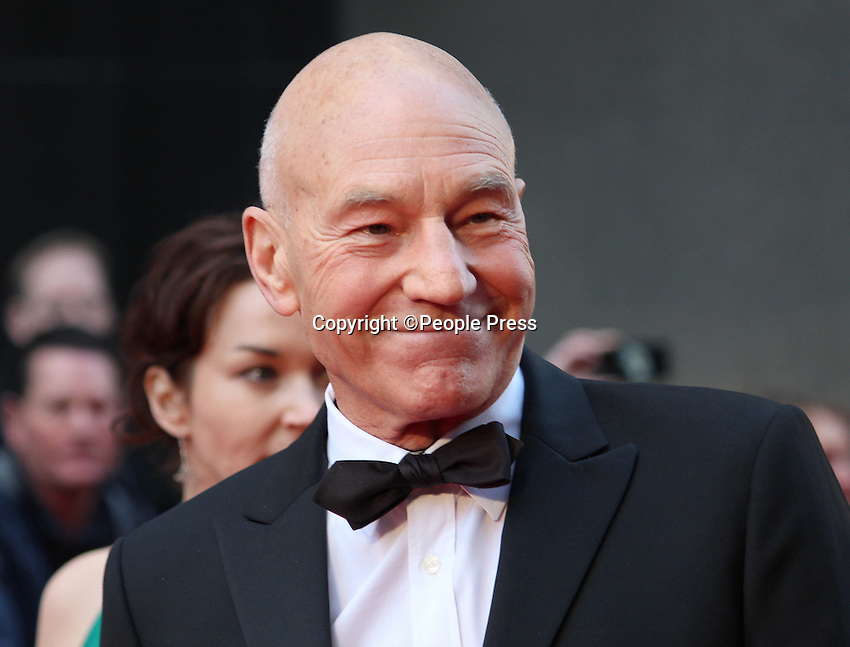 London - Sir Patrick Stewart at the Olivier Awards held at the Royal Opera House, Covent Garden, London - April 15th 2012..Photo by People Press.