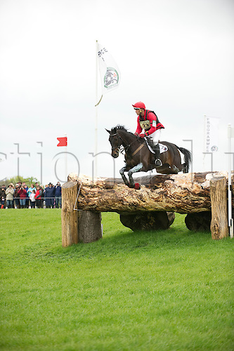 2.5.2010:, Badminton Cross Country, Paul Tapner of Aus on Stormhill Michael at the World Welfare Quay