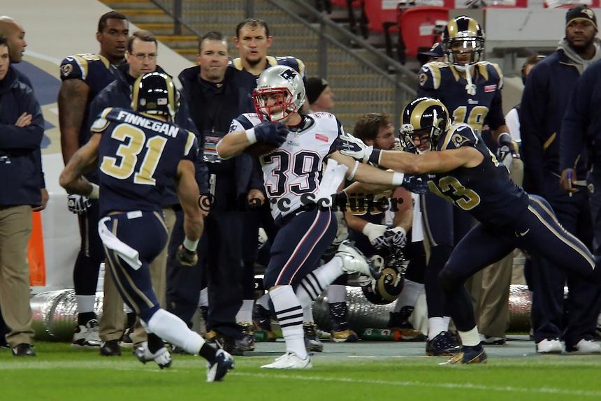 RB Danny Woodhead (Patriots) wird gestoppt
