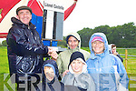 Bookmaker Lionel Costello gives Daniel, Stephen, Pat and Sharon Lordan Caherciveen the odds at the Caherciveen races on Sunday   Copyright Kerry's Eye 2008