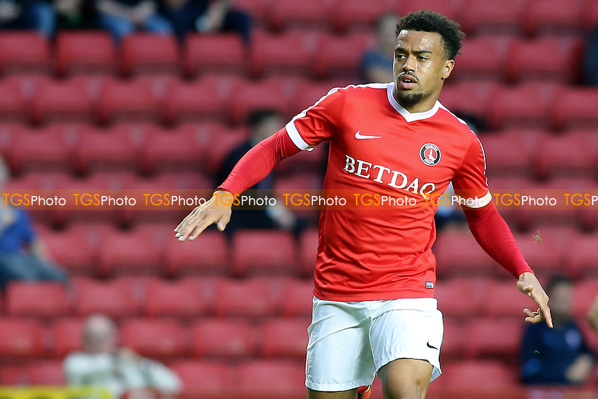 Nicky Ajose of Charlton Athletic during Charlton Athletic vs Ipswich Town, Friendly Match Football at The Valley on 26th July 2016
