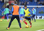 31st October 2017, Cardiff City Stadium, Cardiff, Wales; EFL Championship football, Cardiff City versus Ipswich Town; Kevin Bru of Ipswich Town warming up before the game