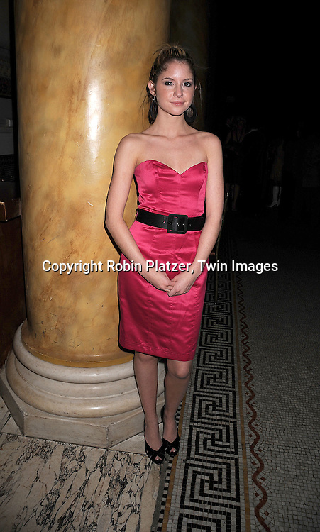 Brittany Underwood .at The One Life to Live Holiday Party on December 19, 2007 at Capitale in New York. .Robin Platzer, Twin Images