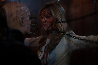Hellraiser: Judgment (2018)<br /> Paul T Taylor &amp; Helena Grace Donald<br /> *Filmstill - Editorial Use Only*<br /> CAP/MFS<br /> Image supplied by Capital Pictures