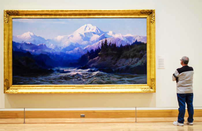 Sydney M. Laurence's Mt. McKinley at Anchorage Museum in Alaska