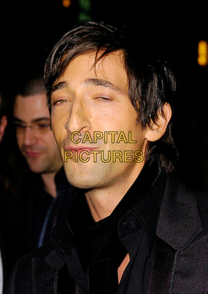 "ADRIEN BRODY.At The Times BFI London Film Festival Gala Screening of ""Hollywoodland"", held at Odeon West End, London, England, October 30th 2006..portrait headshot funny.Ref: CAN.www.capitalpictures.com.sales@capitalpictures.com.©Can Nguyen/Capital Pictures"