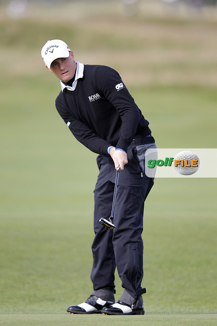 Alexander Noren (SWE) on day one of the Alfred Dunhill links Championship Old Course, St Andrews, Fife, Scotland.<br /> <br /> Picture Fran Caffrey www.golffile.ie