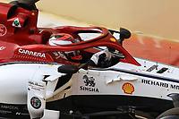 3rd December 2019; Yas Marina Circuit, Abu Dhabi, United Arab Emirates; Pirelli Formula 1 tyre testing sessions; Alfa Romeo Racing, Kimi Raikkonen