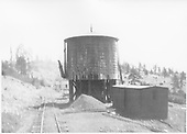 D&amp;RGW water tank &amp; other facilities at an unknown siding.<br /> D&amp;RG
