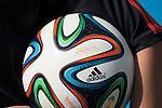Ball the Match             ; <br /> June 23; 2014 - Football : Fifa World Cup Brazil  2014; Match 36; final match between Netherlands 2-0 Chile at<br /> Arena de Sao Paulo Stadium; Sao Paulo, Brazil.;  ;( photo by aicfoto)(ITALY)<br /> <br /> Brazuca, JUNE 23, 2014 - Football / Soccer : FIFA World Cup Brazil 2014 Group B match between Netherlands 2-0 Chile at Arena de Sao Paulo Stadium in Sao Paulo, Brazil. (Photo by Maurizio Borsari/AFLO)