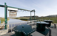 05/02/2020 - A general view shows the Wolferton Pumping Station in Norfolk, east of England, during the visit of Britain's Queen Elizabeth II to officially opened the new station. Photo Credit: ALPR/AdMedia