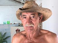 Farmer in his house, Consolación del Sur
