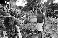 Portrait of a local fisherman. Mazunte, Oaxaca