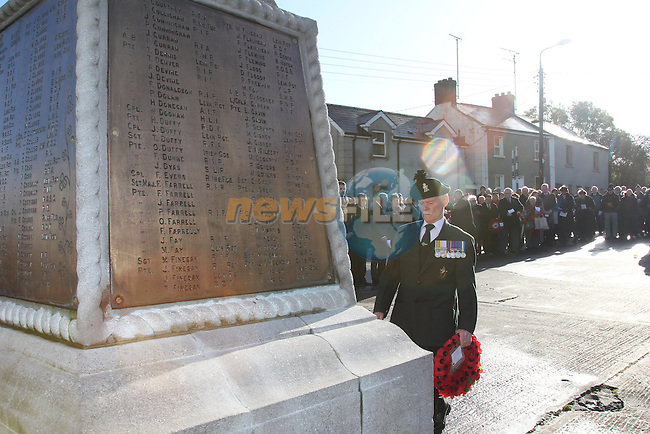 Annual Cenotaph Remembrance Ceremony.Picture: Fran Caffrey/www.newsfile.ie.