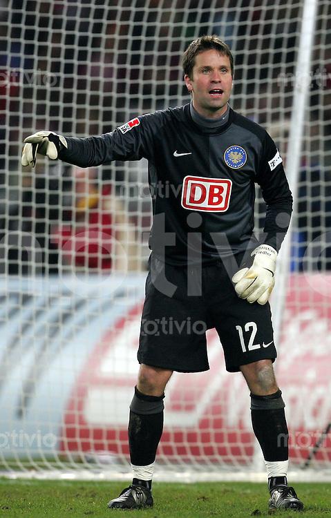 Fussball Bundesliga VFB Stuttgart - Hertha BSC Berlin Christian FIEDLER (Hertha) gestikulierend.