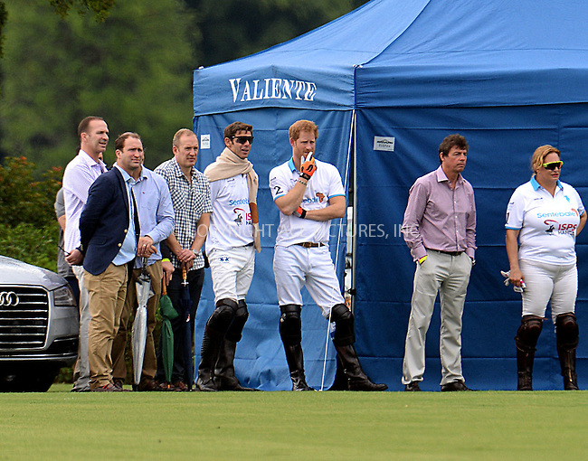 WWW.ACEPIXS.COM<br /> <br /> May 4 2016, Wellington, FL<br /> <br /> Prince Harry (C) at the Sentebale Royal Salute Polo Cup on May 4, 2016 in Wellington, Florida. <br /> <br /> By Line: Solar/ACE Pictures<br /> <br /> <br /> ACE Pictures, Inc.<br /> tel: 646 769 0430<br /> Email: info@acepixs.com<br /> www.acepixs.com
