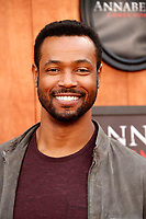 "LOS ANGELES - JUN 20:  Isaiah Mustafa at the ""Annabelle Comes Home"" Premiere at the Village Theater on June 20, 2019 in Westwood, CA"