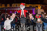 Enjoying the switching on of the christmas lights in Castleisland on Saturday were Aibhlinn Cotter and Kate Carty