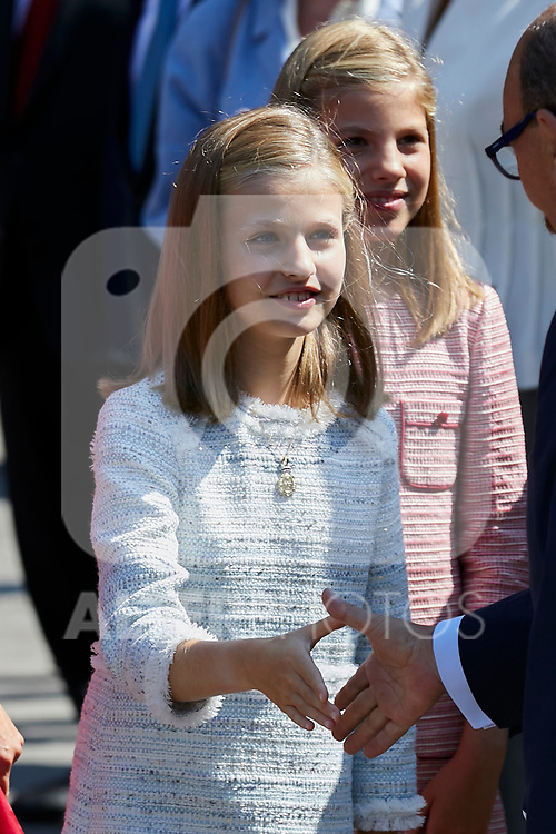 Princess Leonor of Spain visit Covadonga, Spain. September 08, 2018. (ALTERPHOTOS/A. Perez Meca)