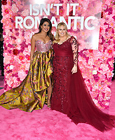 LOS ANGELES, CA. February 11, 2019: Priyanka Chopra &amp; Rebel Wilson at the premiere of &quot;Isn't It Romantic&quot; at The Theatre at Ace Hotel.<br /> Picture: Paul Smith/Featureflash
