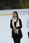 American Figure Skater and Two Time U.S. National Champion Alissa Czisny Attends The 2013 Skating with the Stars honoring B Michael and Andrea Joyce -A benefit gala for Figure Skating in Harlem Held At Trump Rink, Central Park, NY