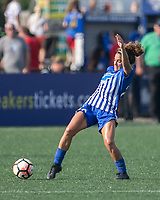 Allston, MA - Saturday August 19, 2017: Angela Salem during a regular season National Women's Soccer League (NWSL) match between the Boston Breakers and the Orlando Pride at Jordan Field.