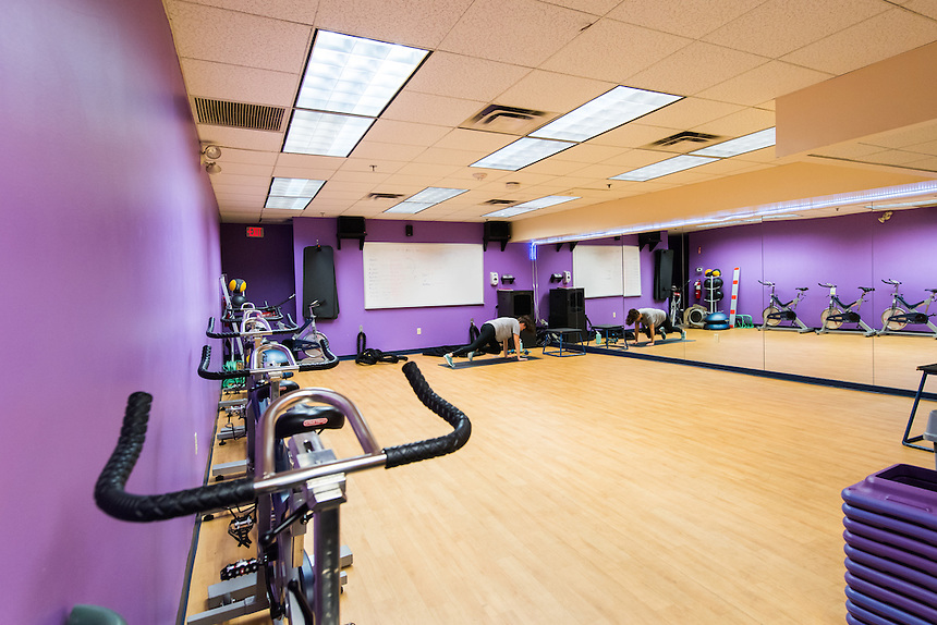 Photos of the Fitness Center (Basement of the Little Building) taken during the Picture Yourself at Emerson Event, April 2016.