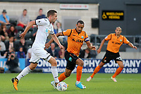 Gylfi Sigurdsson of Swansea City takes on the Barnet defence during Barnet vs Swansea City, Friendly Match Football at the Hive Stadium on 12th July 2017