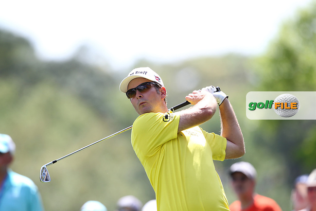 Kevin Steelman of USA drives from the 2nd tee during the 3rd round of the Valspar Championship, Innisbrook Resort (Copperhead), Palm Harbor, Florida, USA<br /> Picture: Peter Mulhy / Golffile