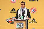 13 January 2011: Vancouver Whitecaps selected Michael Nanchoff with the #8 overall pick. The 2011 MLS SuperDraft was held in the Ballroom at Baltimore Convention Center in Baltimore, MD during the NSCAA Annual Convention.