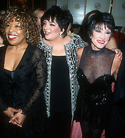 Roberta Flack, Liza Minnelli, Chita Rivera, 2000, Photo By John Barrett/PHOTOlink