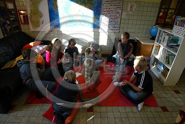 WATERLOO - BELGIUM - 11 SEPTEMBER 2006 -- Scandinavian School of Brussels -- PHOTO: ERIK LUNTANG / EUP-IMAGES