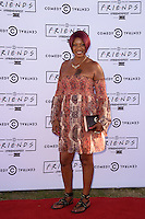 Sandy Channer<br /> at the launch party for Comedy Central's FriendsFest, presented by The Luna Cinema at Haggerston Park.<br /> <br /> ©Ash Knotek  D3146  23/08/2016