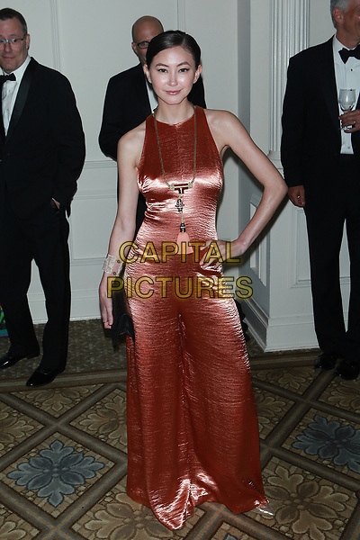 NEW YORK, NY - APRIL 20: Kimiko Glenn at ASPCA Bergh Ball 2017 at The Plaza Hotel on April 20, 2017 in New York City. <br /> CAP/MPI99<br /> &copy;MPI99/Capital Pictures