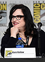 SAN DIEGO COMIC-CON© 2019:  L-R: 20th Century Fox Television's AMERICAN DAD Executive Producer Kara Vallow during the AMERICAN DAD panel on Saturday, July 20 at the SAN DIEGO COMIC-CON© 2019. CR: Frank Micelotta/20th Century Fox Television