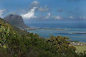 The Mountain of Le Morne in Mauritius.