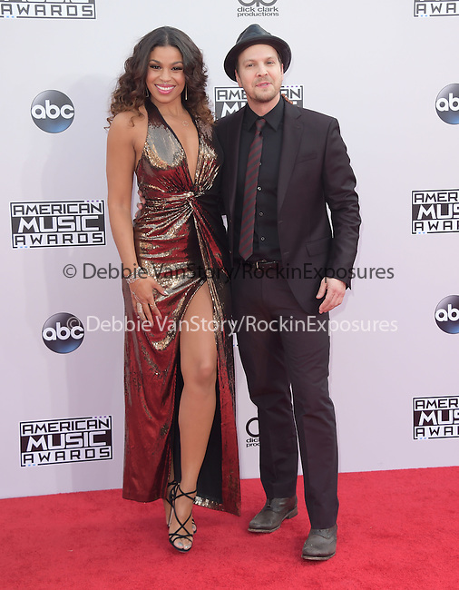 Jordin Sparks and Gavin DeGraw at The 2014 American Music Award held at The Nokia Theatre L.A. Live in Los Angeles, California on November 23,2014                                                                               © 2014 Hollywood Press Agency