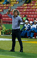 BUCARAMANGA - COLOMBIA, 18-08-2018: Alberto Gamero, técnico de Deportes Tolima, durante partido entre Atlético Bucaramanga y Deportes Tolima, de la fecha 5 por la Liga Aguila II 2018, jugado en el estadio Alfonso López de la ciudad de Bucaramanga. / Alberto Gamero, coach of Deportes Tolima, during a match between Atletico Bucaramanga and Deportes Tolima, of the 5th date for the Liga Aguila II 2018 at the Alfonso Lopez Stadium in Bucaramanga city Photo: VizzorImage / Oscar Martínez / Cont.