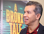 """Sergio Trujillo during the photocell for """"A Bronx Tale - The New Musical""""  at the New 42nd Street Studios on October 21, 2016 in New York City."""