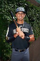 Carter Aldrete (6) of Monterey High School in Monterey, California poses for a photo before the Under Armour All-American Game on August 15, 2015 at Wrigley Field in Chicago, Illinois. (Mike Janes/Four Seam Images)