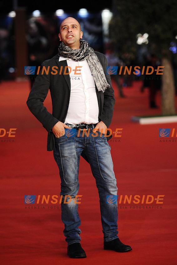 Checco Zalone<br /> Roma 14-11-2013 Auditorium <br /> Festival Internazionale del Film di Roma<br /> Rome Film Festival<br /> Foto Antonietta Baldassarre / Insidefoto