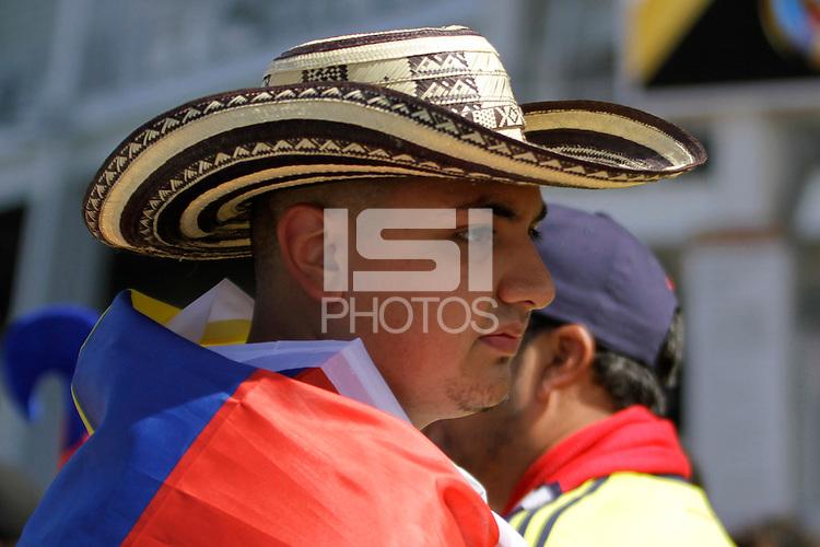 Photo before the match United States vs Colombia, Corresponding Group -A- America Cup Centenary 2016, at Levis Stadium<br /> <br /> Foto previo al partido Estados Unidos vs Colombia, Correspondiante al Grupo -A-  de la Copa America Centenario USA 2016 en el Estadio Levis, en la foto: Fans<br /> <br /> <br /> 03/06/2016/MEXSPORT/Victor Posadas.